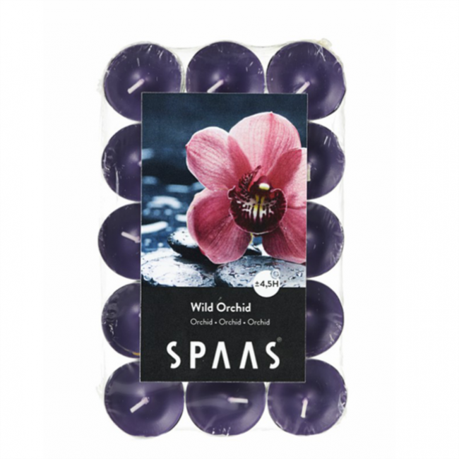 Scented tealights 30/1 Wild Orchid
